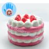 I134สกุชชี่ เค้ก Eric สีชมพู (SUPER SOFT) ขนาด 10.5 cm. ลิขสิทธิ์แท้
