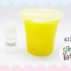 K171 Slime Beaw By Ya ya yah สูตร PEPO สีเหลืองมุก ขนาด 6 oz พร้อมน้ำยากันเหลว