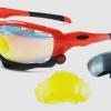 แว่นตาปั่นจักรยาน Jawbone ส้มดำ