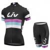 ชุดปั่นจักรยานผู้หญิง LIV Black เสื้อปั่นจักรยาน พร้อมกางเกงปั่นจักรยาน