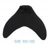 NB012-F100 ฟิน ชุดว่ายน้ำหางนางเหงือก สำหรับชุดหางปิด SIZE 100-130