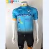 ชุดปั่นจักรยาน Astana 2017 เสื้อปั่นจักรยาน และ กางเกงปั่นจักรยาน