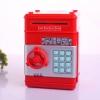 KA009 กระปุกออมสิน ตู้เซฟ ดูดเงินอัตโนมัติ สีแดง