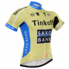 เสื้อปั่นจักรยาน แขนสั้น Tinkoff Saxo พร้อมส่ง