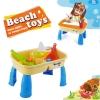 TB001 โต๊ะเล่นทราย เล่นน้ำ 2 IN 1 (ในชุดไม่มีทราย)