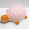 C904 สกุชี่ บันเต่ายักษ์ สีชมพู (SUPER SOFT) 13 cm มีกลิ่นขนม