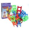 (สินค้าไม่มีแพ๊คเก็จ) ZBO075 Balance Chairs เกมตั้งเก้าอี้ สลับกันตั้ง ระหว่างล้ม แฟมิลี่เกมส์ เล่นสนุกนาน กับเพื่อนๆ หรือ ครอบครัว
