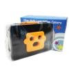 TY081 กล้องทอย Toy Camera โลโม่ 3 เลนท์ สีส้ม-ดำ ไม่ต้องใช้ถ่าน ใช้ฟิล์ม 35mm (ฟิลม์ซื้อแยกต่างหาก)