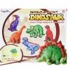 DI005 Mould & Paint Dinosaur Magnets ชุดปูนพลาเตอร์ พร้อมแม่พิมพ์ และ ระบายสี ที่ติดตู้เย็น