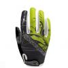 ถุงมือปั่นจักรยาน เจล HaNDCReW สีเขียว