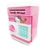KA011 กระปุกออมสิน ตู้เซฟ ดูดเงินอัตโนมัติ ลาย Hello Kitty