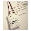 KGTB6 กระเป๋าผ้า GOT7 ของแฟนเมด ติ่งเกาหลี