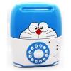 KA043 กระปุกออมสิน ตู้เซฟกระเป๋าเดินทาง ดูดเงินอัตโนมัติ Doraemon