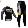 ชุดปั่นจักรยาน แขนยาว Scott 2015 เสื้อปั่นจักรยาน และ กางเกงปั่นจักรยาน