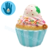 I285 สกุชชี่ Squishy Tasfry Tefifi cup cake ขนาด 5 cm (Super Soft) ลิขสิทธิ์แท้