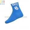 ถุงเท้าจักรยาน ถุงเท้าปั่นจักรยาน โปรทีม Sky 2