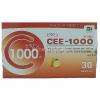 Cee-1000 30 เม็ด แพคเกตเล็กๆ ราคาไม่แพง ช่วยบำรุงผิวพรรณ