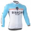 เสื้อปั่นจักรยาน แขนยาว Bianchi พร้อมส่ง