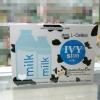 IVY Slim Milk ไอวี่ สลิม มิลล์ (นมผอม) (10 ซอง) ฉีก ชง ดื่ม ส่ง 90 บาท