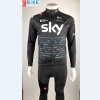 ชุดปั่นจักรยาน แขนยาว Sky 2017 เสื้อปั่นจักรยาน และ กางเกงปั่นจักรยาน