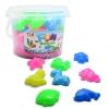 P099- ทรายนิ่ม Soft Sand Play Sand ทรายสีชมพู พร้อมแม่พิมพ์