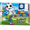 KN016 Knabber Esspapier Fußball Edition ขนมกระดาษ มี อย ลาย ฟุตบอล คละแบบ 1 ห่อ รสผลไม้รวม (ลาย C)