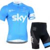 ชุดปั่นจักรยาน SKY 2015 เสื้อปั่นจักรยาน และ กางเกงปั่นจักรยาน