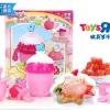 J007 ของเล่นนำเข้า ของเล่นญี่ปุ่น fun cooking แก้วทำสเลิฟบี้ และ ชุดทำไอติมแท่ง (ทำได้จริง)
