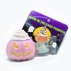 I137 สกุชชี่ Limited edition GLOW in the dark Halloween Pumpkin Squishy ฟักทอง ฮาโลวีน สีชมพู ขนาด 8 cm เรืองแสง ลิขสิทธิ์แท้