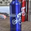 ขวดน้ำจักรยาน สแตนเลส อย่างดี สีน้ำเงิน