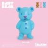 I042-1 I-bloom BABY BEAR NOAH 1 ชิ้น สกุชชี่ ไอบูม หมีน้อย สีฟ้า ขนาด 10 CM