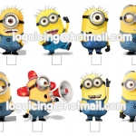 Minions stand up 01