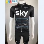 ชุดปั่นจักรยาน Sky 2017 เสื้อปั่นจักรยาน และ กางเกงปั่นจักรยาน