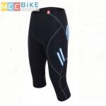 กางเกงปั่นจักรยาน ขา 3 ส่วนอย่างดี VEOBIKE มีแถบสะท้อนแสง มีกระเป๋าหลัง เป้า GEL Anti Shock
