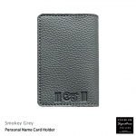 Smokey Grey(เทา) - Personal Name Card Holder