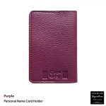 Purple(ม่วง) - Personal Name Card Holder
