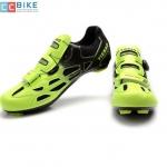 รองเท้าปั่นจักรยาน เสือหมอบ สีดำเหลือง TB16-B1259-1002