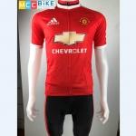 ชุดปั่นจักรยาน Man U เสื้อปั่นจักรยาน และ กางเกงปั่นจักรยาน