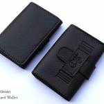 Secrect Brown(น้ำตาลเข้ม) - Sashy Card Wallet