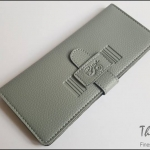 Smokey Grey(เทา) - Sashy Yen Wallet