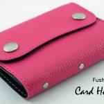Fushia(บานเย็น) - Card Holder