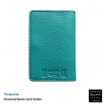 Turquoise(เขียวเทควอยด์) - Personal Name Card Holder