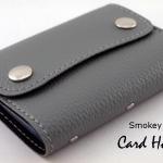 Smokey Grey(เทา) - Card Holder