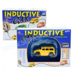 Z071 Inductive car กำหนดทิศทางด้วยการวาดเส้น รถ jeep สีเหลือง 1คัน