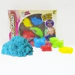 PW124 ทรายนิ่ม Soft Sand Play Sand sweet ทรายคละ สี น้ำหนัก รวม 600 กรัม พร้อมอุปกรณ์