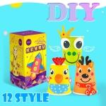 DI037 ของเล่น กิจกรรมยามว่าง เสริม จิตนาการ และความคิดสร้างสรรค์ Cup Diy