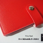 Fire Red(แดง) - Bookbank Holder