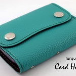 Turquoise(เขียวเทควอยด์) - Card Holder