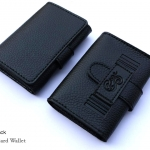 Pure Black(ดำ) - Sashy Card Wallet