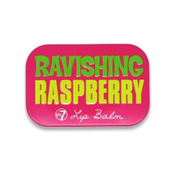 W7 Fruity Lip Balm-RAVISHING RASPBERRY